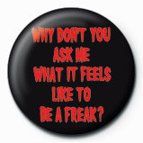 ROB ZOMBIE - ask me Badge