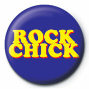 ROCK CHICK Badge