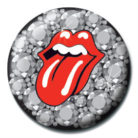 ROLLING STONES - Bling Badge