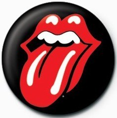 Rolling Stones (Lips) Badge