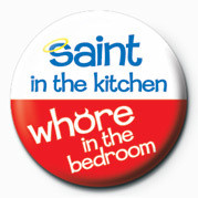 SAINT IN THE KITCHEN& Badges