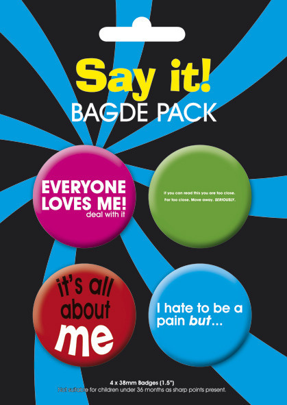 SAY IT Badge Pack