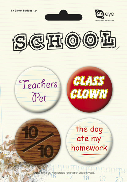 SCHOOL Badge Pack