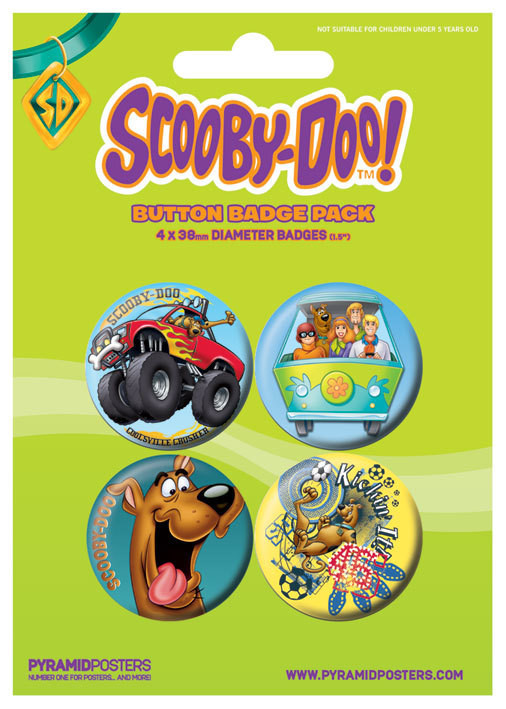 SCOOBY DOO - Boy Badge Pack