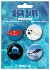 SEA LIFE Badge Pack