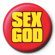SEX GOD Badge