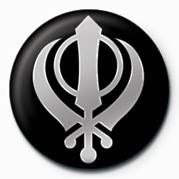 SIKH (FAITH SYMBOL) Badge