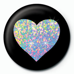 SILVER HEART Badges