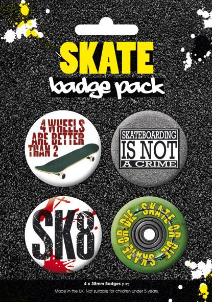Badges SKATE 2