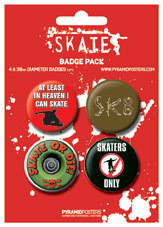SKATE Badge Pack