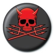 SKULLDUGGERY - devil Badges