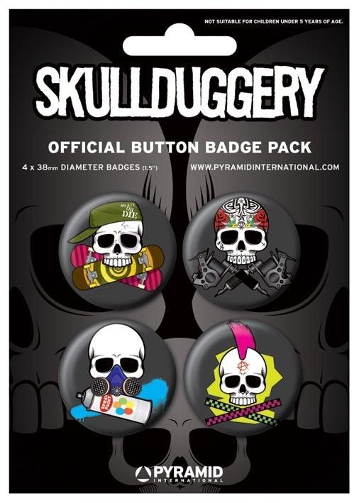SKULLDUGGERY Badge Pack