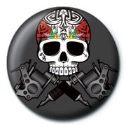 SKULLDUGGERY - tattoo Badge
