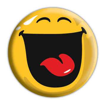 SMILEY - Happy Badge