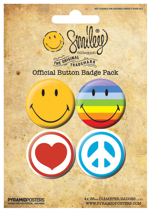 SMILEY ICONS Badge Pack