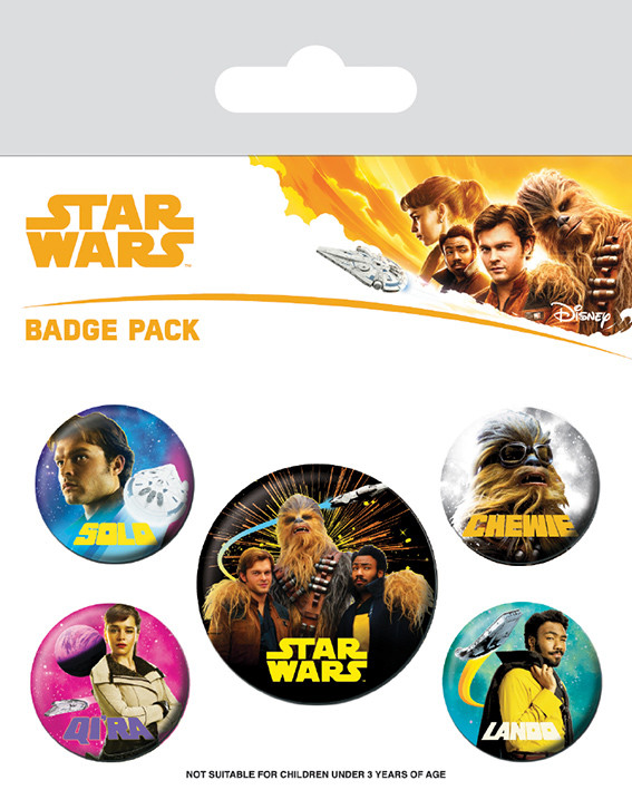 Solo: A Star Wars Story Badge Pack