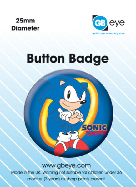 SONIC RING Badge