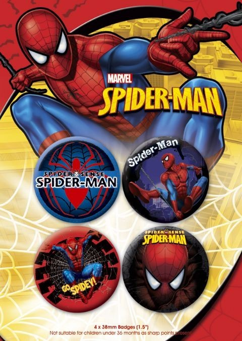 SPIDER-MAN 2 Badges
