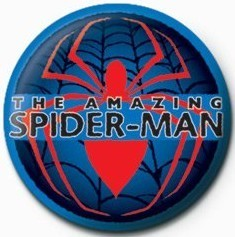 SPIDERMAN - red spider Badge