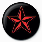 STAR (RED & BLACK) Badge