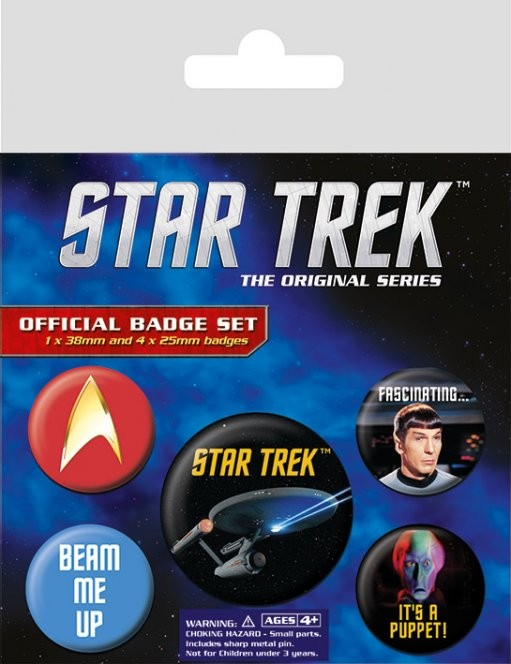 Star Trek Badge Pack