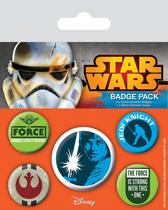 Badge set Star Wars - Jedi