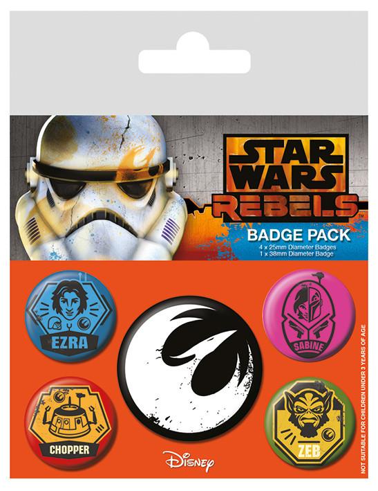 Badge set Star Wars: Rebels