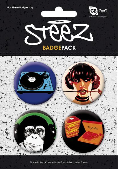 STEEZ - Pack 1 Badges