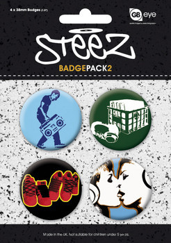 Badges STEEZ - Pack 2