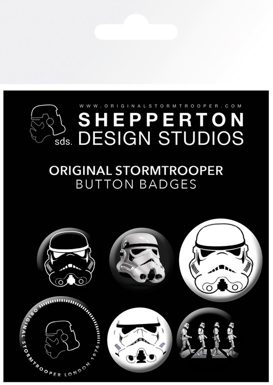 Badge set Stormtrooper - Mix