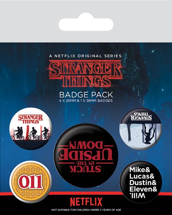 Stranger Things - Upside Down Badge Pack