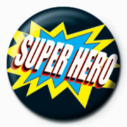 SUPER HERO Badge