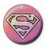 SUPERGIRL - shield Badge