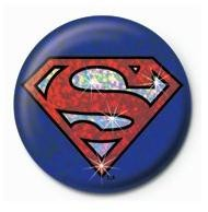 SUPERMAN - shield Badge