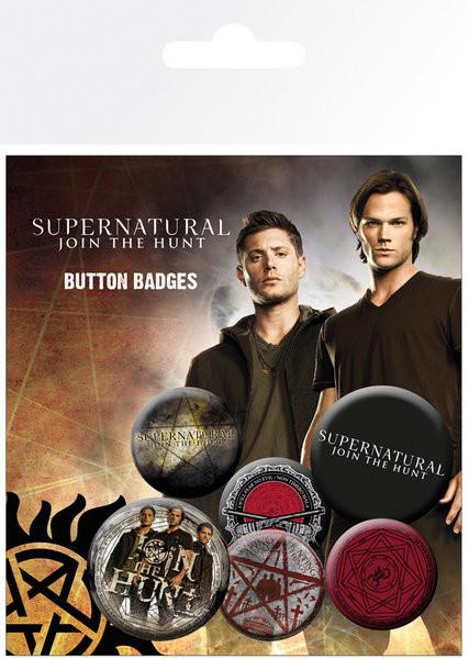 Supernatural - Saving People Badge Pack