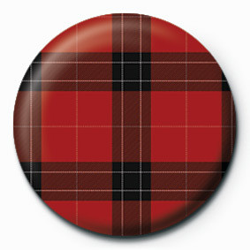TARTAN (RED) Badge