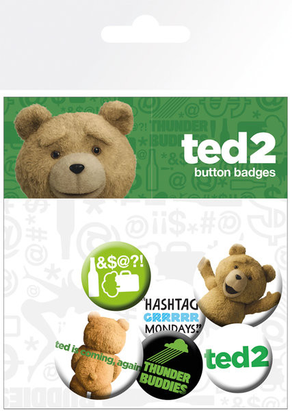 Ted 2 - Mix Clean Badge Pack