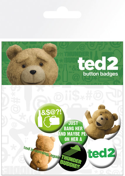 Ted 2 - Mix Badge Pack