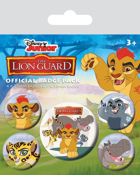 The Lion Guard Badge Pack