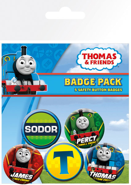 Badges Thomas le petit train - High Velocity