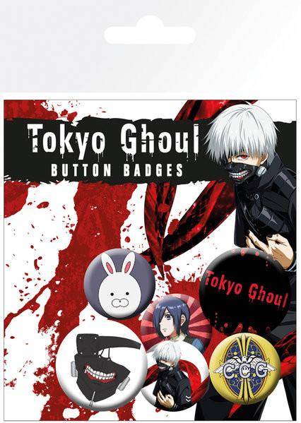 Tokyo Ghoul - Mix Badge Pack