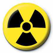 TOXIC WASTE (LOGO) Badges