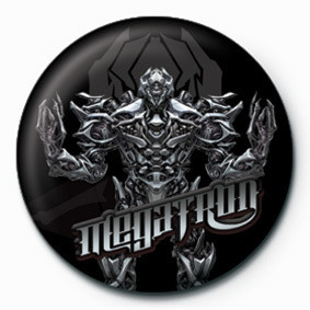 TRANSFORMERS - megatron Badge