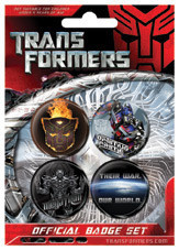TRANSFORMERS - War Badge Pack