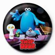 TRAP DOOR Badges
