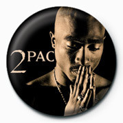 Tupac - Pray Badge