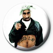Tupac - Thug Life Badges
