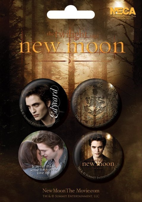 TWILIGHT NEW MOON - edward Badge Pack