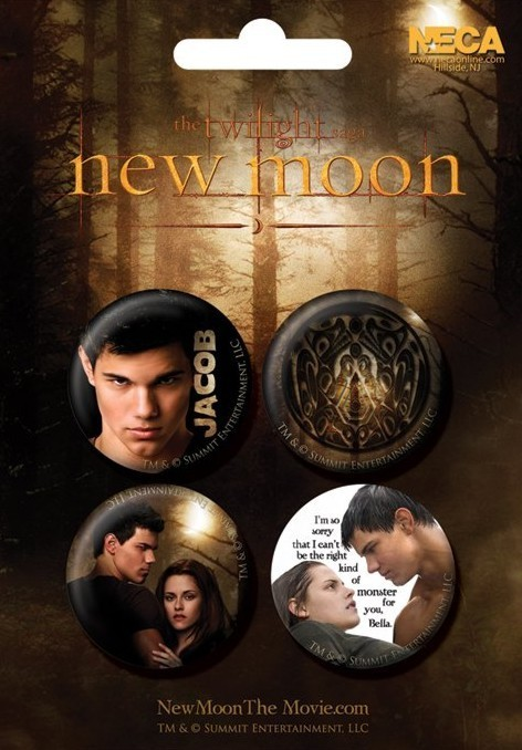 TWILIGHT NEW MOON - jacob Badge Pack