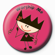 Ugly Little Bitch (Worship Badge